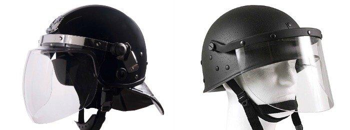Escudo facial para revuelta